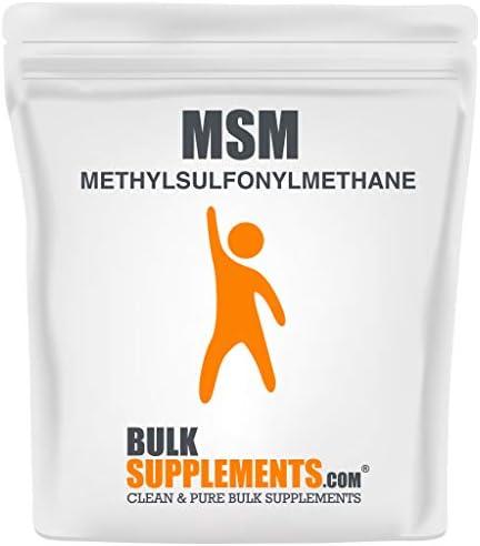 BulkSupplements.com MSM Powder (Methylsulfonylmethane) - Sulfur Powder - MSM Powder for Hair Growth Organic - Hair Powder - MSM Crystals (5 Kilograms)
