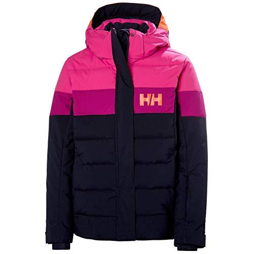 Helly Hansen jongens diamond jas, fel oranje, 14
