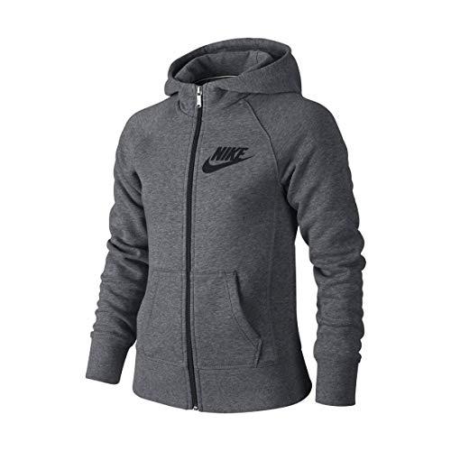 Nike Meisjes YA76 Halfgeborstelde Franchise Full-Zip Hoody Trainingspakken
