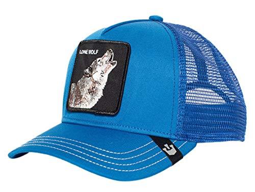 Goorin Brothers - Ropa de cabeza para hombre Lobo azul. Talla única