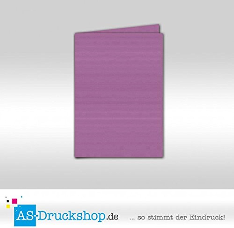 Faltkarte Doppelkarte - Holunder 100 Stück DIN A5 B0794ZJHPP    | Überlegene Qualität