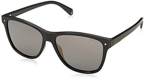 Polaroid PLD 6035/S LM 807 56 Gafas de sol, Negro (Black/Grey), Unisex Adulto