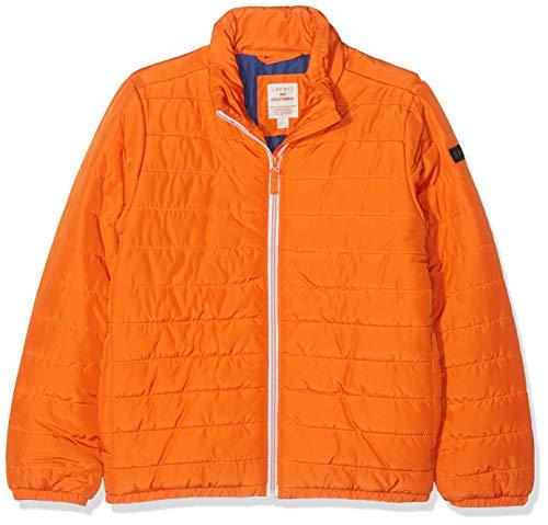 ESPRIT KIDS Jungen Rp4200607 Outdoor Jacket Jacke, Orange (Bright Orange 767), 164 (Herstellergröße: L)
