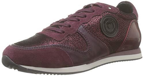 Pataugas Damen Idol/i F4e Sneaker, Rot (Aubergine 601), 40 EU