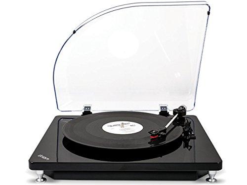 ION AUDIO iT51 Pure LP Plattenspieler (USB) schwarz
