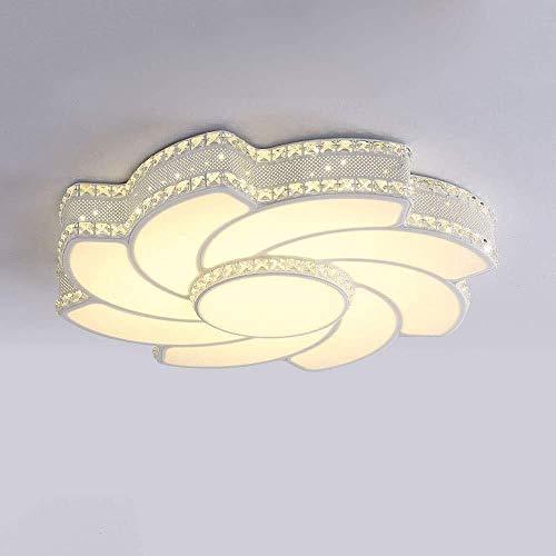 BESTPRVA Techo LED de cristal acrílico brillante luz de la habitación pantalla de la decoración del hogar del accesorio del techo de la lámpara de la lámpara LED Lámparas de techo Iluminación del moli
