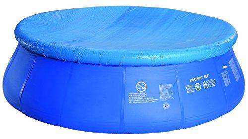 Jilong Afdekzeil voor zwembad, rond Ø 300-305 cm ronde Fast Set Pool Prompt Set Zwembakken Zwembad Cover