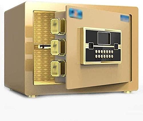 Cajas fuertes de armario, cajas fuertes de pared Cajas fuertes de armario Cajas fuertes de desvío Caja fuerte biométrica con teclado Cerradura de combinación Joyería de huellas dactilares Alarma