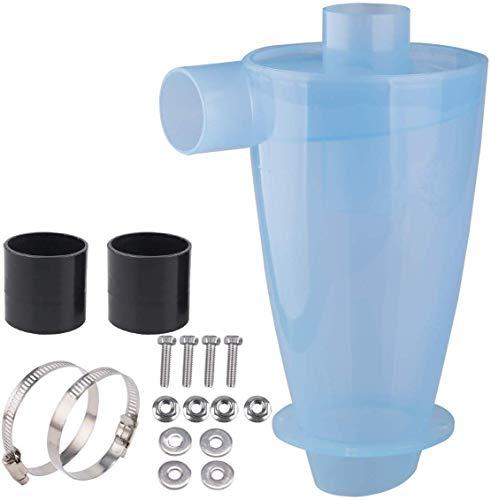 Zyklon Staubabscheider Filter Zyklon Staubabsaugung/Filter/Staubabsauger/Abscheider, Vollständig transparent, Energieffizienzklasse A für Vakuum