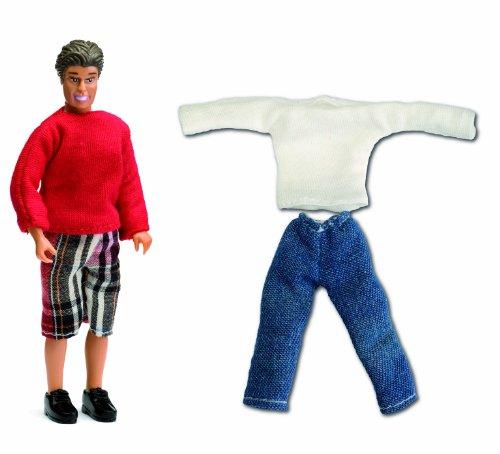 Lundby 60.8046.00 - Smaland: Vater und Kleidung für Puppenhaus