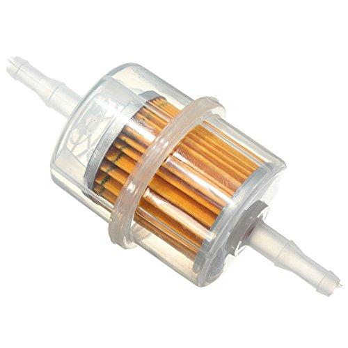 Filtres a carburant - SODIAL(R) 6mm 8mm Universel Pipe En Ligne Filtre a Essence Carburant pour Auto Moto voiture
