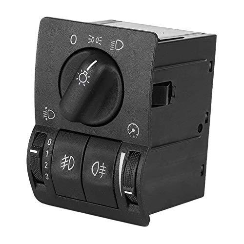 Katigan Interruptor de Luz Principal AutomáTico Faros Antiniebla Control de Interruptor de Luz Principal 6240097 para Astra G Zafira A