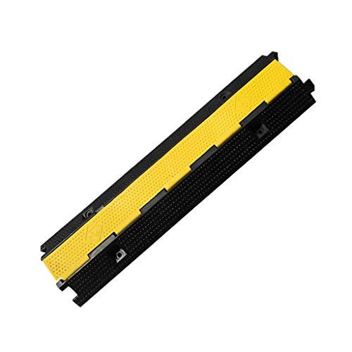 Z-W-Dong Multifunktions-Schutzschlitz, Trunking-Kabel-Pipeline-Verzögerungszone Indoor-Außenbereich for Autopufferzone, Crimp-Board Rampen (Size : 100 * 26.5 * 6.5CM)