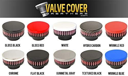 Gunmetal Gray Valve Cover Breather Oil Cap Lancer Evolution X EVO 10 Ralliart