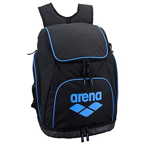 arena(アリーナ) プールバッグ 水泳 リュック AEANJA01 ブラック×ブルー