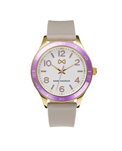 MARK MADDOX - Reloj Acero IP Dorado Y Aluminio Correa Sra Mm - MC7117-04