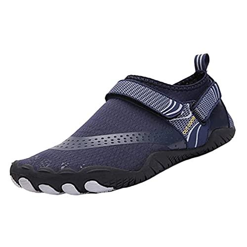 Fangke Zapatos de agua descalzos, de secado rápido, para natación, playa, buceo, surf, barco, snorkel, ciclismo, senderismo, deportes, surf, yoga, niños, unisex, unisex, color, talla 35 EU