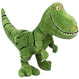 Peluche de dinosaurio, juguete de 40 cm, simulación de tiranosaurio T-Rex, dinosaurio de peluche para niños, juguetes de animales llenos de animales para niños y niñas, regalo