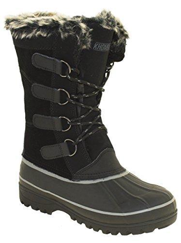 Khombu Andie 2 Women's Winter Boots Black, 7M