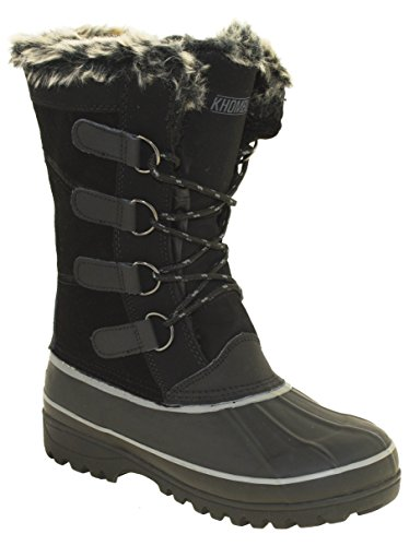 Khombu Andie 2 Women's Winter Boots Black, 7M
