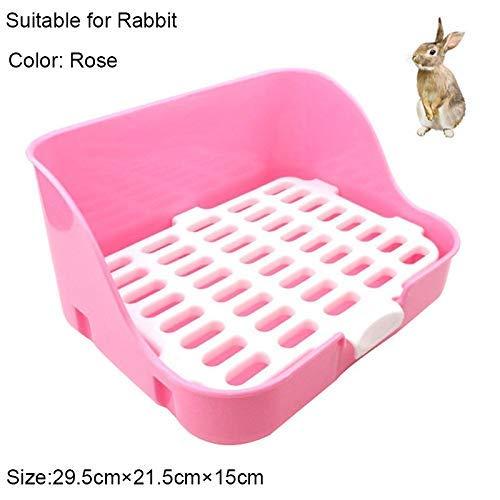 ZXL kattenbak huisdier benodigdheden huisdier kat konijn hoek wc schalen schoon huisdier nest training lade voor kleine dieren huisdieren nest & huishouding kat nest doos (kleur: C)