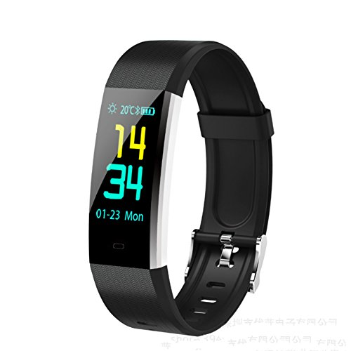 LIRONG Smart armband, fitness tracker hartslagmeter tracker Smart armband Activity Tracker Bluetooth Monitor met slaapmonitor Android platform Apple iOS platform