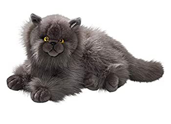 Cat Persian Grey 12 inches 30cm Plush Toy Soft Toy Stuffed Animal 3433