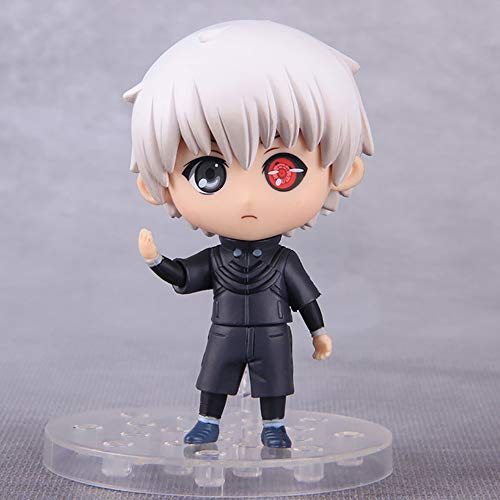 YXCC Figura de muñeca Ghoul Decoración de Coche Modelo Kaneki Ken versión Q