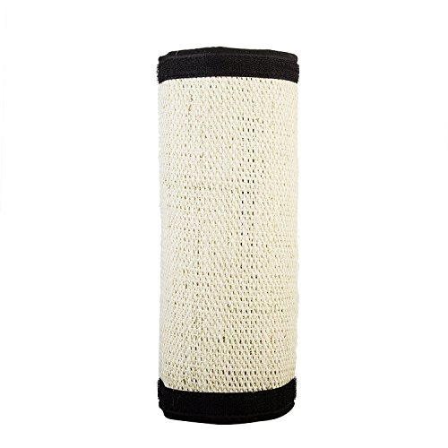 VIILER Fashionable Cat Scratcher Pad with Flexible Materials amp Features Velcro Backing for Wrapping Around Table Couch Chair Furniture Leg to Prevent Furniture Scratching Roll design M