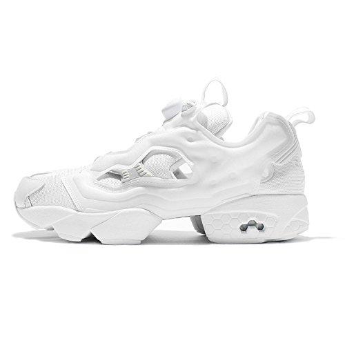Reebok Classic Instapump Fury OG Herren Running Trainers Sneakers (UK 11 US 12 EU 45.5, White Steel AR2199)
