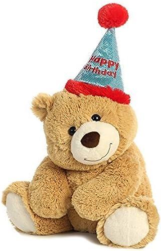 Aurora World Plush Bear, Happy Birthday Bear by AURORA