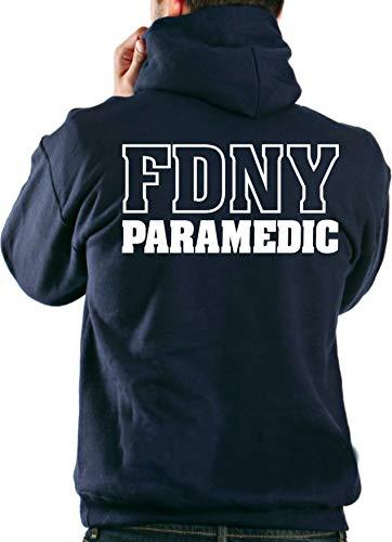 Survêtement à capuche bleu marine New York Fire Dept., PARAMEDIC L Bleu marine - bleu marine