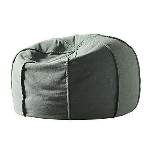 Office Life Easy Padded Bodenstuhl Lazy Couch Sitzsack Tatami Waschbares Wohnzimmer Kleines Sofa Freizeit Einzel Stoff Sofastuhl Bodenstuhl Verstellbarer Rückenlehnenstuhl (Farbe: M57, Größe: 60615