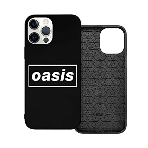 Compatibile con iPhone 12/11 PRO Max 12 Mini SE X/XS Max XR 8 7 6 6s Plus Custodie Oasis Nero Custodie per Telefoni Cover