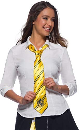 Rubies Cravate Officielle Harry Potter, Poufsouffle/Hufflepuff, Taille Unique, Jaune