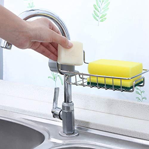JLySHOP Sink Trash Bag Holder Kitchen Sink Rack Strong Sucker Supporto per Sacco Della spazzatura Staffa di plastica Clip-on Storage Rack 2pcs