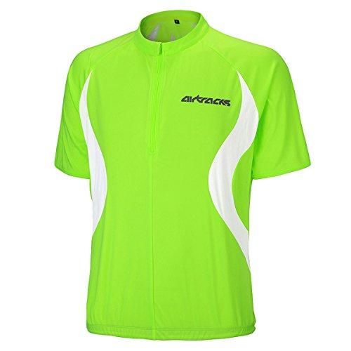 Airtracks FUNKTIONS Fahrradtrikot/RADTRIKOT/Jersey/Kurzarm Team - neon - XL