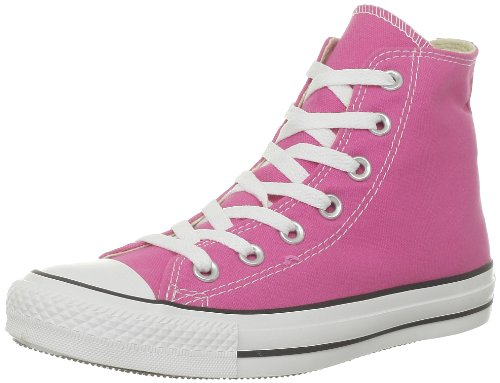 Converse Unisex-Kinder All Star Hohe Sneakers, Pink, 22 EU