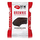 Eat Me Guilt Free Protein Brownie, Low Carb Healthy Snack or Dessert, 22g Protein, Original Chocolate (12 Count)