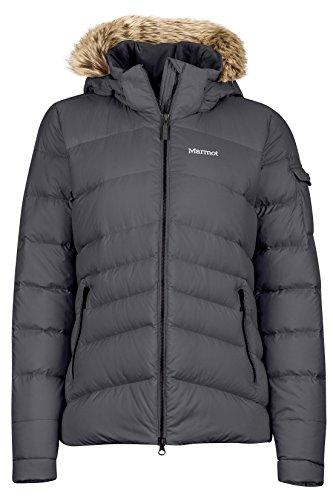 Marmot Women's Ithaca Down Puffer Jacket, Fill Power 700, Dark Steel ,X-Small