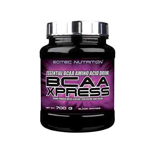 Scitec Nutrition BCAA Xpress, Essential BCAA Amino Acid Drink Powder with Leucine, Isoleucine and Valine, 700 g, Blood Orange