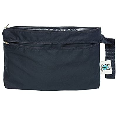 Planet Wise Clutch Wet/Dry Bag, Navy, Made in The USA