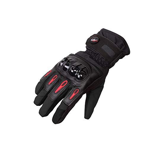 Guanti Moto Impermeabili Invernali, Antivento Guanti per Touchscreen per Moto, Escursioni Invernali e Altri Sport all' Aria Aperta - M/L/XL