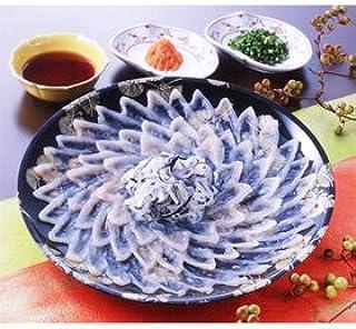 トラフグ刺身セット 30cm プラスチック皿 【お届け先不可地域:北海道・沖縄・離島】