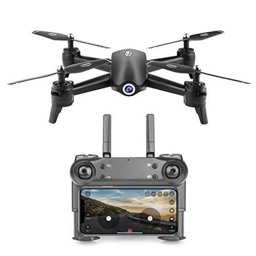 Macro Drone, Dual Lens Geste, Portrait Shooting, Quadcopter mit Adult 4K HD Dual Lens, Wireless-LAN Echtzeit-Videoübertragung, FPV Drone, Geeignet für Anfänger, mit Intelligent-Verfolgungsfunktion