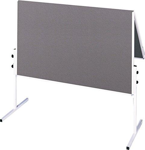 Franken CC-UMTF-G12 Moderationstafel X-tra Line, 120 x 150 cm, Filz grau