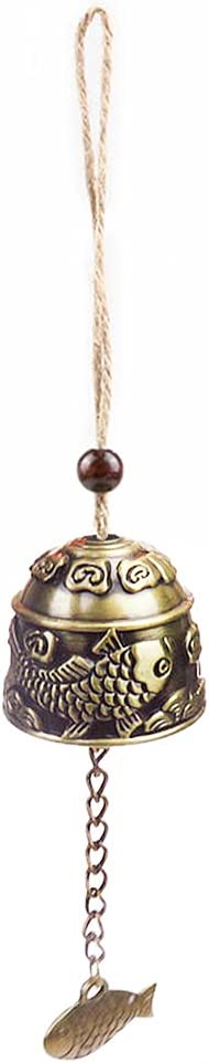 TreeLeaff overseas Wind Chimes Outdoor Chinese Tibetan Buddhism Metallic Sale item