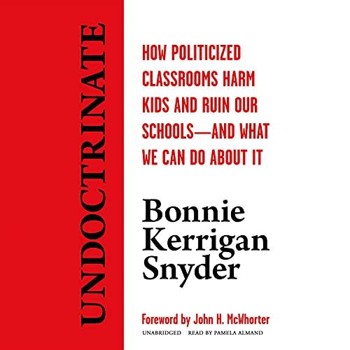 Undoctrinate Audiobook By Bonnie Kerrigan Snyder cover art