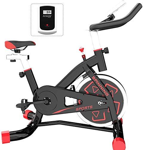 SAFGH Bicicleta giratoria Bicicleta de Ejercicio para el hogar Bicicleta de Entrenamiento en Interiores, Equipo Deportivo, Dispositivo de Entrenamiento aeróbico, Se Puede Ajustar según el suyo, Ne