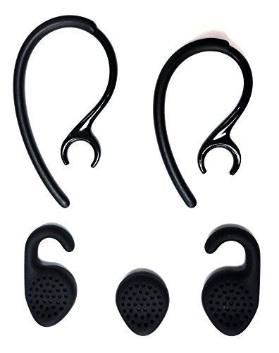 Replacement Set Ear Gels Ear Hooks Compatible with Jabra Extreme & Jabra Extreme2 Headset Ear Hooks Ear Loops Earhooks Earloops Earclips Stabilizers Eargels Earbuds Eartips Earstabilizers